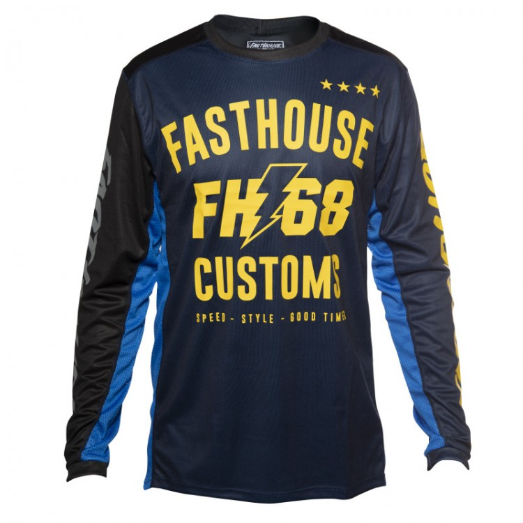 maillot-fasthouse-worx-navy-pas-cher-promo...