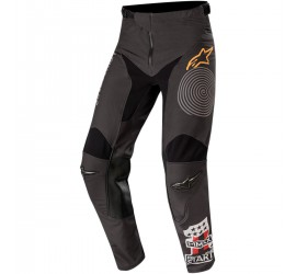PANTALON ALPINESTARS RACER FLAGSHIP NOIR ORANGE