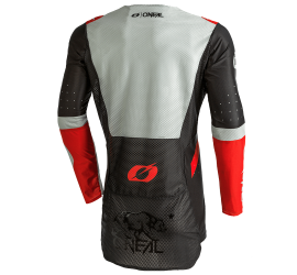 MAILLOT ONEAL PRODIGY 2021 NOIR GRIS ROUGE