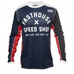 MAILLOT FASTHOUSE HERITAGE NAVY