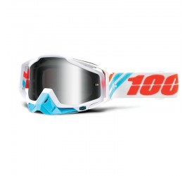 promotion-masque-cross-enduro-100%-racecraft-calculus-ice-mirror-silver-pas-cher...