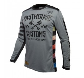 MAILLOT FASTHOUSE HAWK GREY